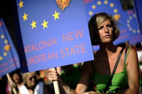 Каталония требует независимости