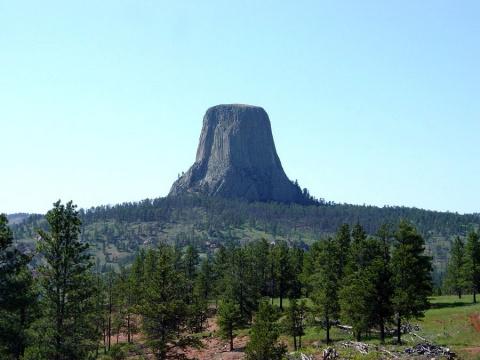 Башня дьявола в США