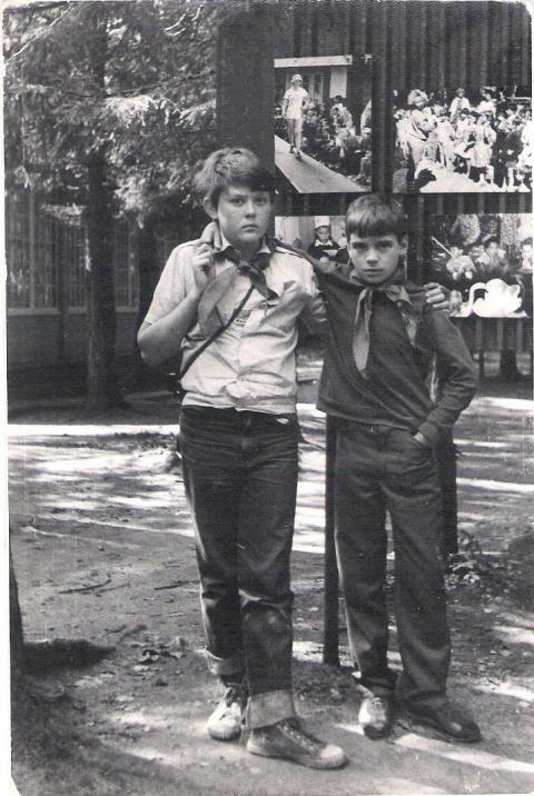 1989 ... Макс Пранов и Золотарев Алеша