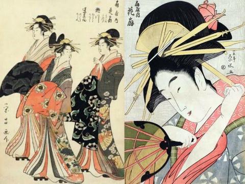 Японские прелестницы: гейши, юдзё, майко и просто японки