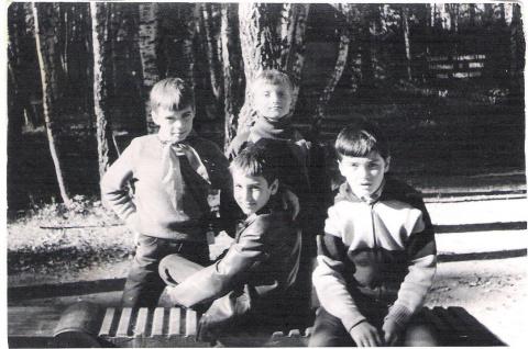 1989 ...в галстуке Алеша Золотарев...