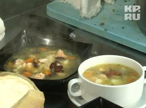 Готовим рыбу с Сержем Марковичем. Суп из лосося. часть№1