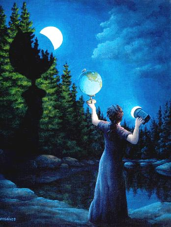 New Moon Eclipsed