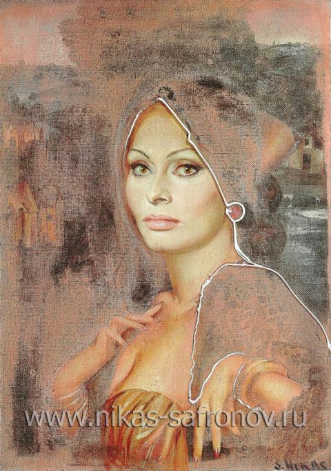 Портрет Софи Лорен
