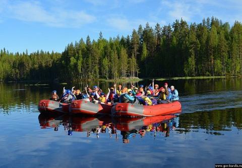 """Лагерь """"Северный речной путь"""" собрал юных любителей туризма"""