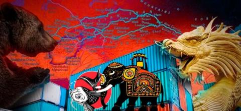 Индия и Китай: борьба за Россию