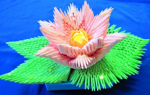 слова: модульное оригами