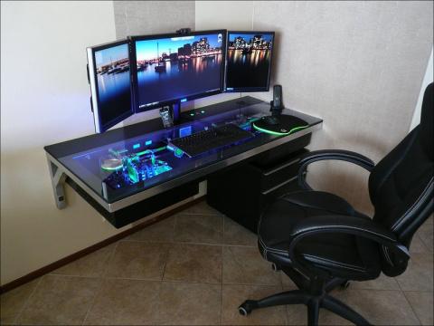 Шикарное компьютерное рабочее место