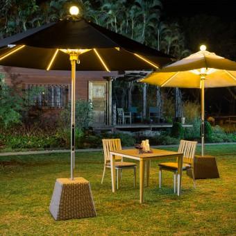 Зонт-фонарь для любимого сада