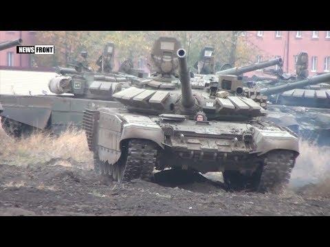 Танкисты ЮВО провели контрольные стрельбы на полигоне Кадамовский в Ростовской области