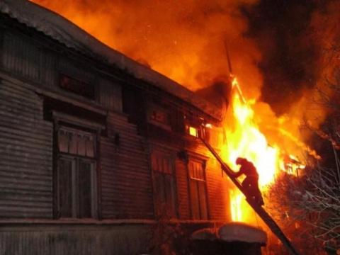 ВХакасии сгорел частный дом…