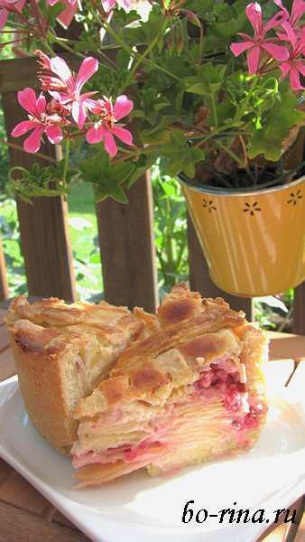 Десертный вихрь. Пироги с яблоками. Яблочный пирог с творожной заливкой