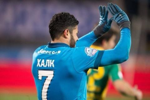 «Зенит» обыграл «Кубань», благодаря голу Халка