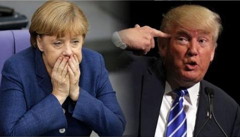 Канцлер Германии Меркель нед…