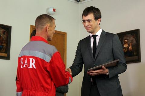 На Украине наградили экипаж …