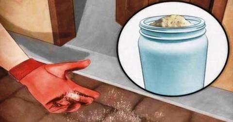 Вот зачем рассыпать соль пря…