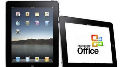 MS Office для iPad выйдет в …