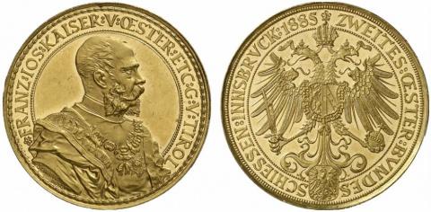 Памятные монеты Франца-Иосифа I. Часть 2. Стрелковые фестивали