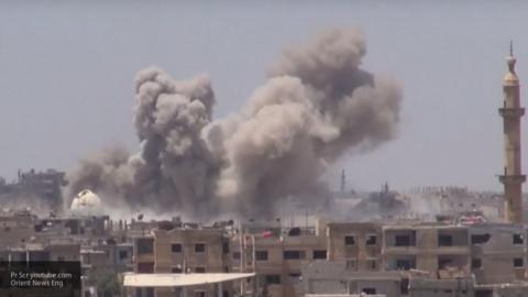 Четыре мирных жителя погибли в результате взрыва в городе Даръа в Сирии