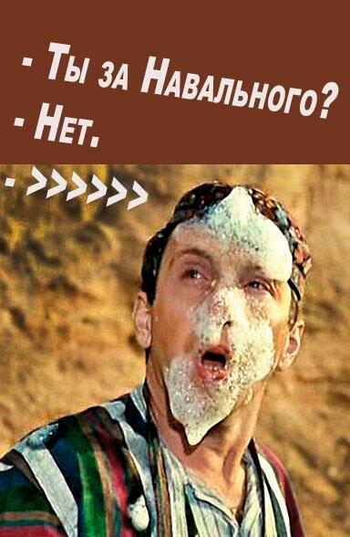 Руки убрал!  Агитируй за Навального правильно (с)