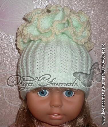 Чудесные шапочки от Ольги Чумак