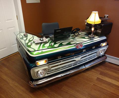 Креативный письменный стол и…
