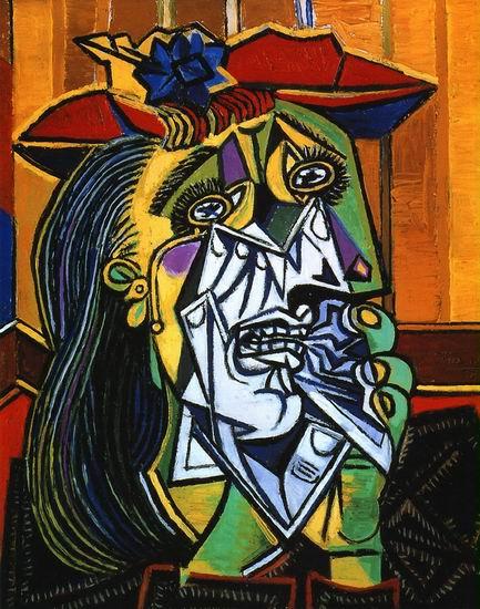 Пабло Пикассо Плачущая женщина