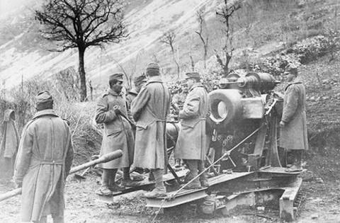 Разгром итальянской армии в …