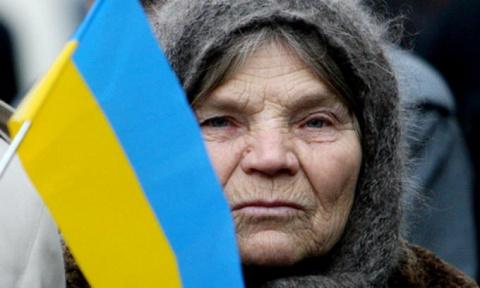 Украинских пенсионеров обобр…
