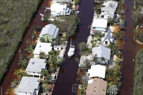 Флорида после урагана «Ирма»…