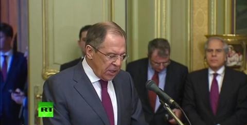 Сергей Лавров и глава МИД Греции провели пресс-конференцию в Москве