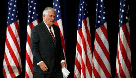 Тиллерсон может досрочно уйти в отставку из-за разногласий с Трампом