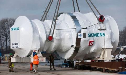 Неожиданный поворот событий вокруг скандала с турбинами Siemens