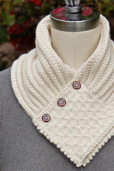 Интересные идеи для вязки шарфов