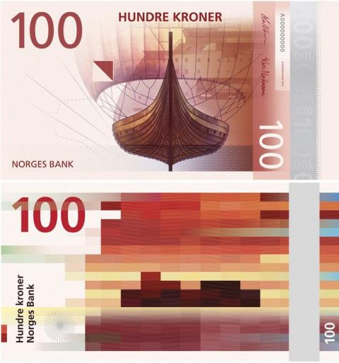 Норвегия перейдет на пиксельные деньги