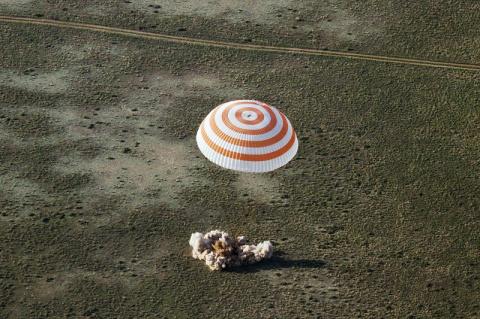 Американский астронавт расск…