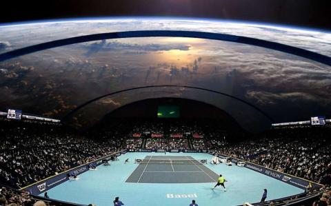 Космонавты сыграют в теннис …