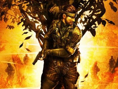 Легендарная Metal Gear Solid…