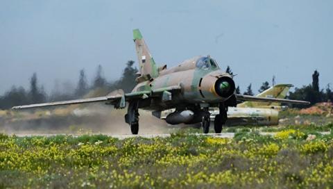 Вот и ответ на сбитый «союзничками» сирийский самолёт
