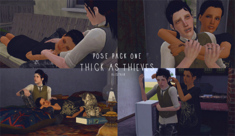 Pose Pack 1 : Thick As Thieves by alistair