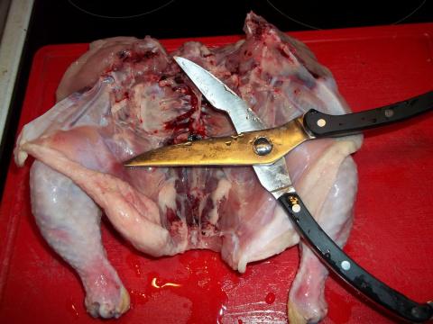 Еще одна ретро- курица.
