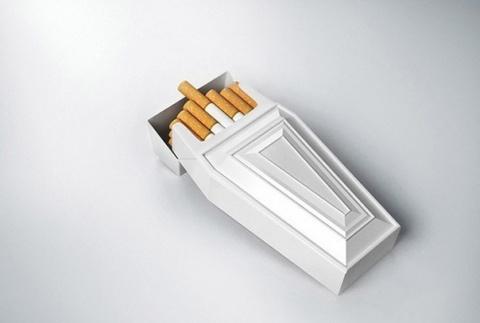 Пачка сигарет, которая заставляет задуматься