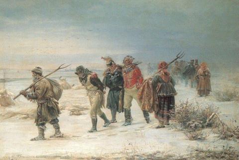 Как поступали партизаны с французами в 1812 году