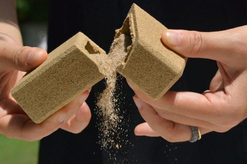 Упаковка из песка