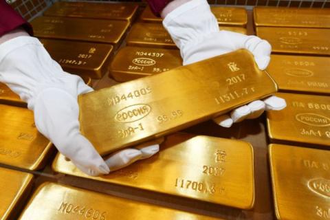 Главное золотохранилище Центробанка России