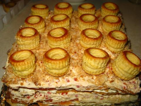 Рецепт с Днюхи! Торт закусочный «Жизнь удалась!»