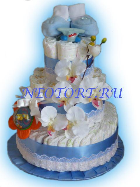 """""""торт"""" для новорожденных"""
