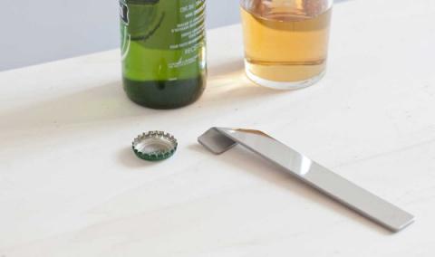 Открывалка для бутылок, которая не похожа на открывалку для бутылок