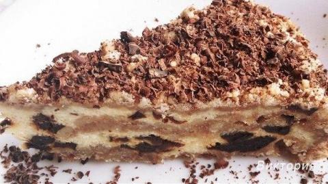 Сказочный пирог с черносливо…