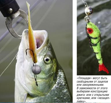 Джиггинг по площадям. Рыбалка от К.Кузьмина